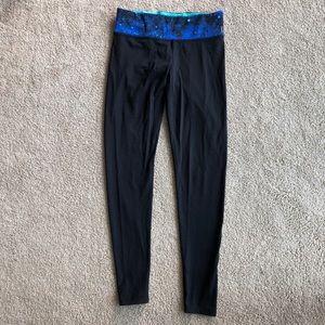 Victoria Secret PINK reversible galaxy leggings